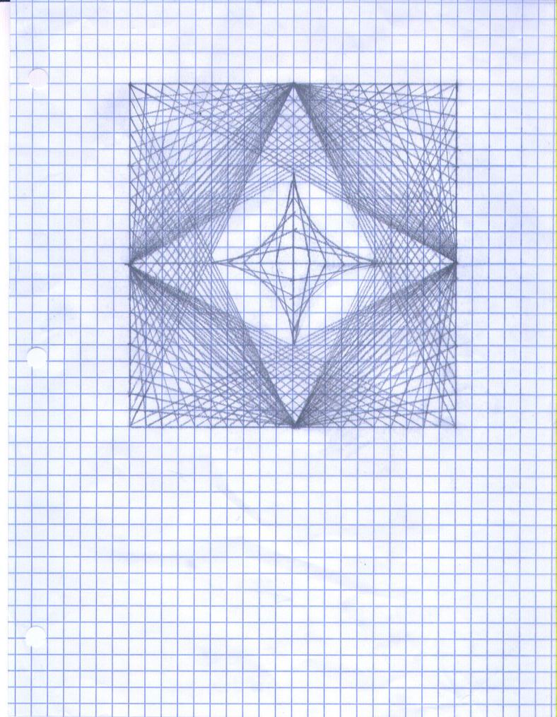 Graph Paper Drawing by NimbleNinja224 on DeviantArt