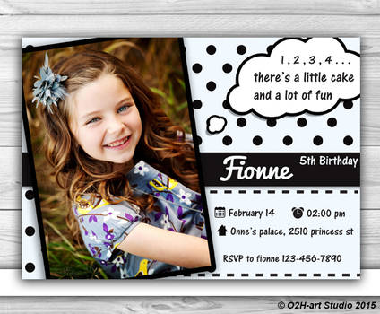 Etsy Sale - Birthday Invitations Design-Printable