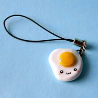 Egg-chan Charm by HezaChan
