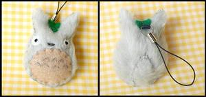 Chibi Totoro Keychain Plush