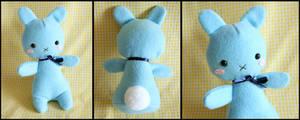 Blue BunBun-chan Plushie