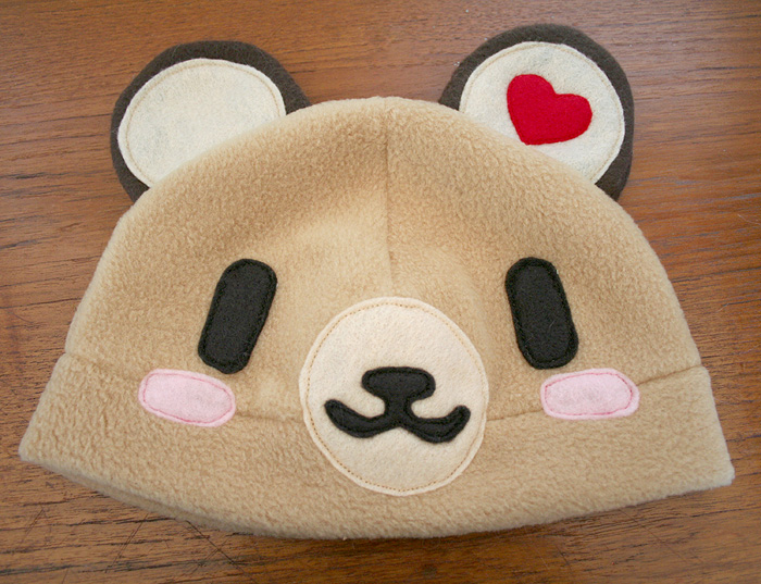 Tenorikuma Latte Fleece Hat by HezaChan