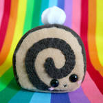 Chocolatey Cake Roll Plushie 2