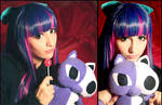 Stocking Wig and Makeup Test