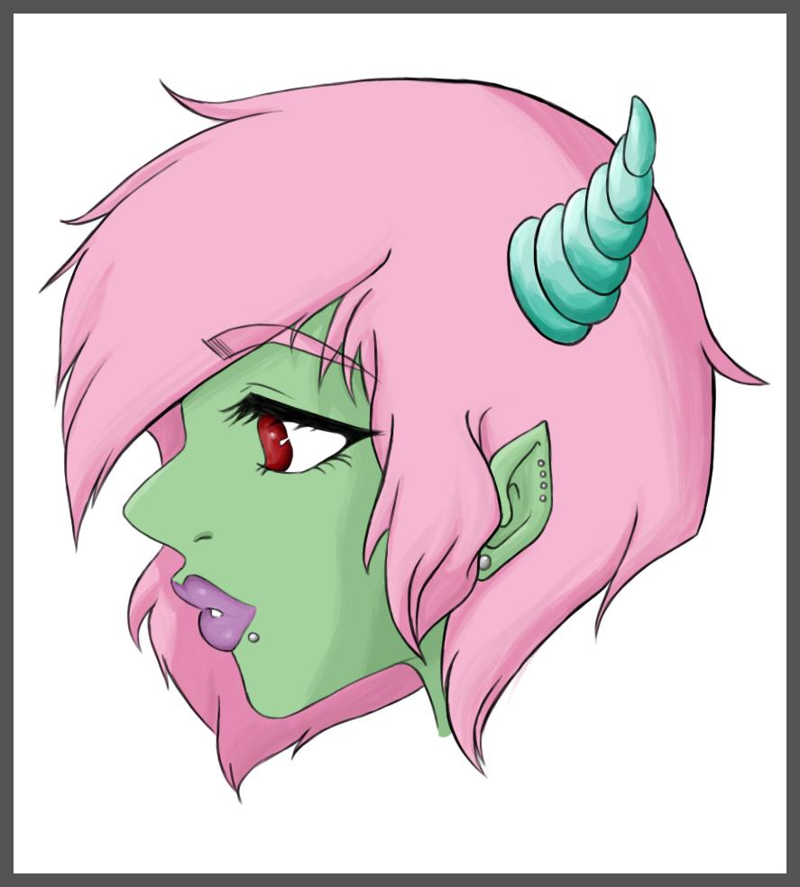 Damned Demon Slut by HezaChan
