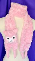 Cutie Alpaca Scarf - Rose
