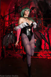 Take Flight - Morrigan Aensland Cosplay