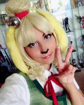 Animal Crossing: New Leaf - Isabelle Cosplay