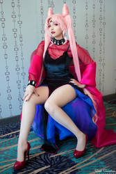 Sailor Moon R - Black Lady Cosplay