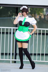 Idolmaster Cosplay - Characro Maid Ritsuko