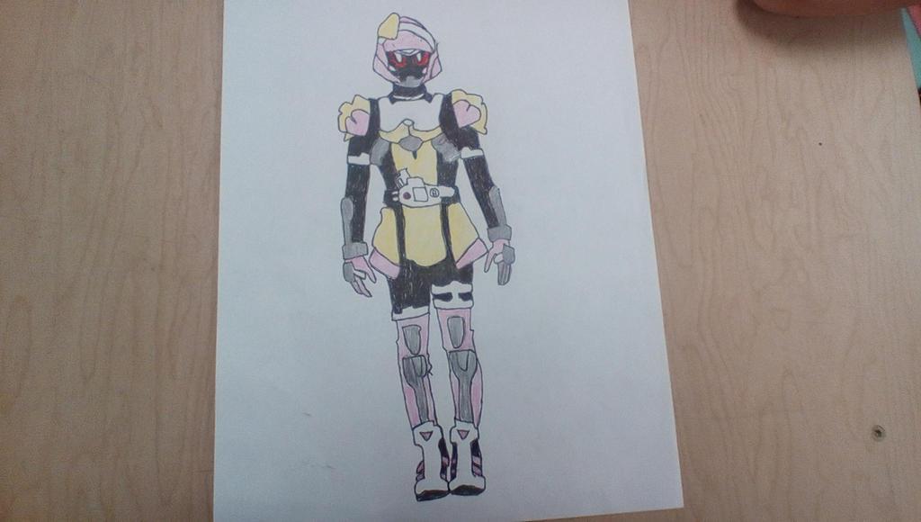 Kamen Rider Poppy's Toki Meki Crisis Gamer Level X by Glitterstrap
