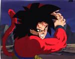 Goku SSJ4 Cel Scan Dragon Ball GT