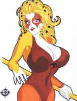 ThunderCats Cheetara 8x11 by SSaruman