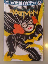 BATGIRL Batman Rebirth 1 Sketch Comic Cover by SSaruman