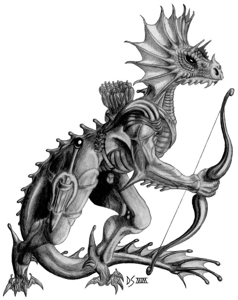 A Noble Dragonewt