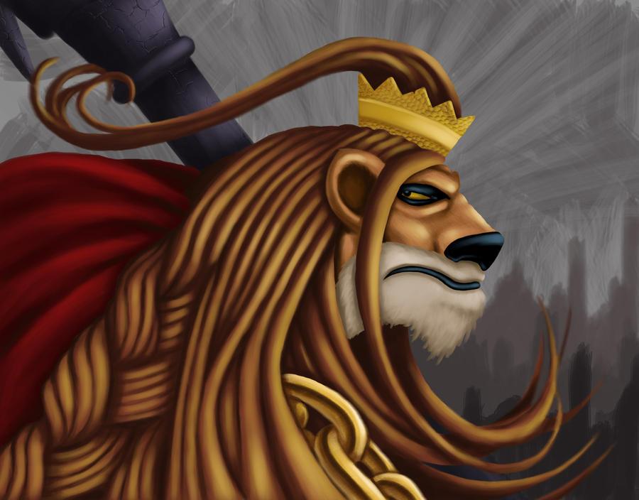 Warrior King by KujoRock