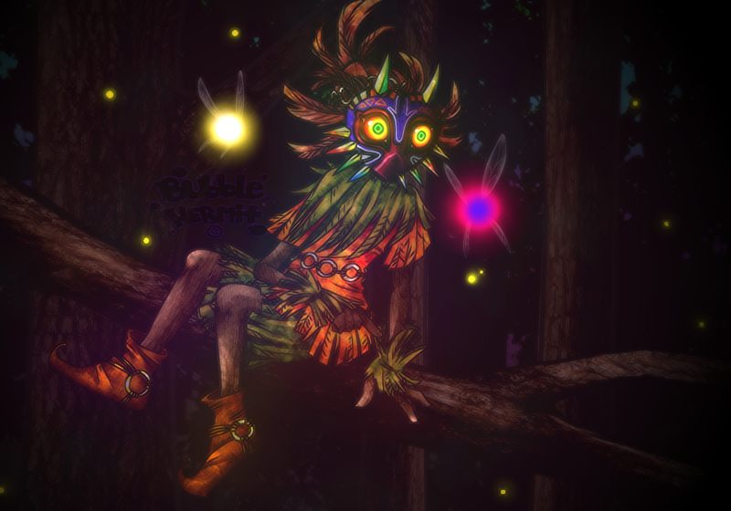 Skull Kid Wallpaper: ~Skull Kid~ By BubbleHermit On DeviantArt