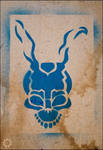 Donnie Darko Frank Stencil