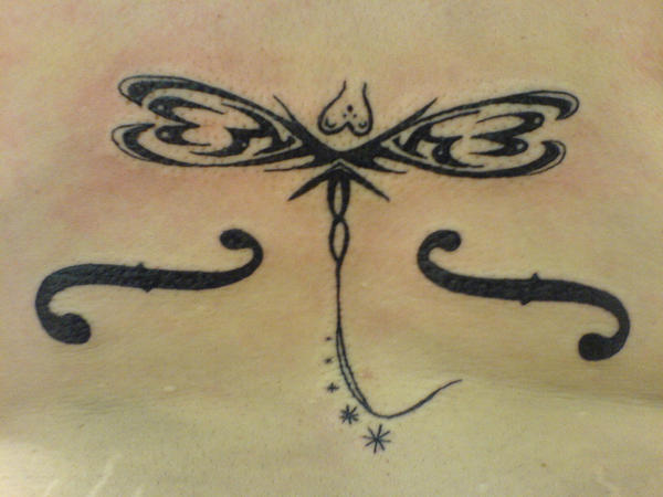 Tribal Dragonfly Tattoo by ~hippieman1234 on deviantART