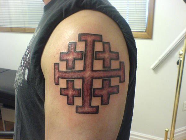 Jewish Christian Symbol Tattoo By Hippieman1234 On Deviantart