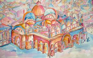 La Basilica di San Marco. Colour edition. by Zooey182