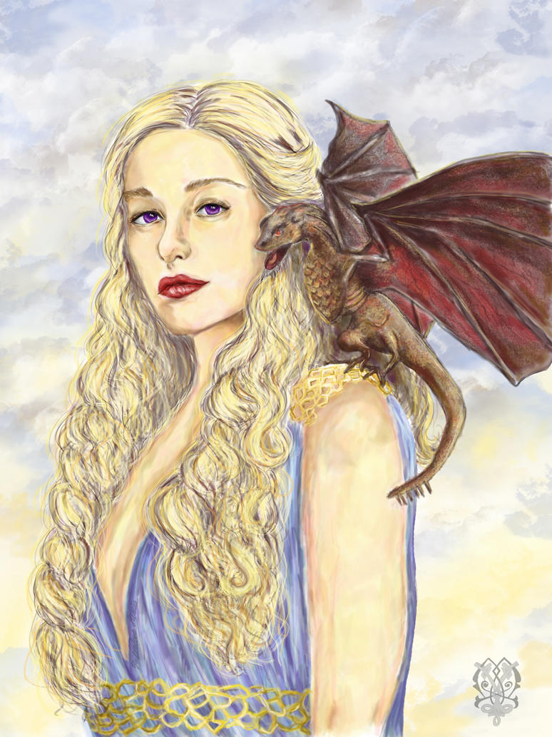 Daenerys Targaryen by Zooey182 on DeviantArt