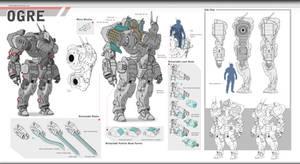 Ogre Concept Art by drb7364