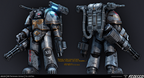 Drake Pattern Terminator Armor