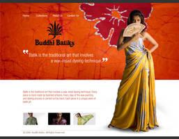Buddhi batiks Web Interfaces by godwantsudead
