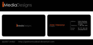 Imedia Logo n Business card by godwantsudead