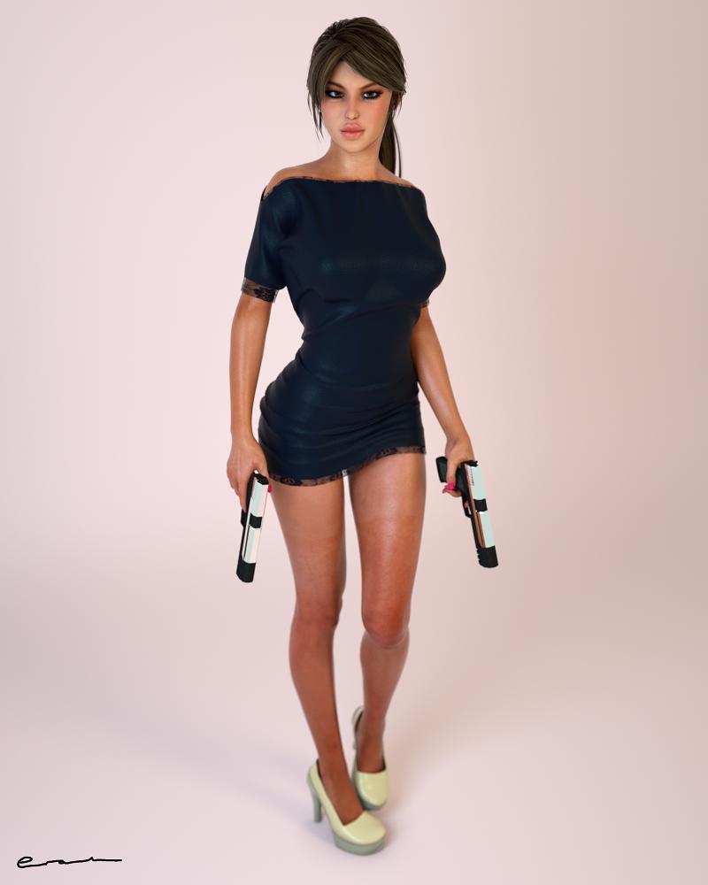 Lara 16. by Erah3D