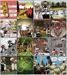 MMO Webcomic Pilot by theSadSrook