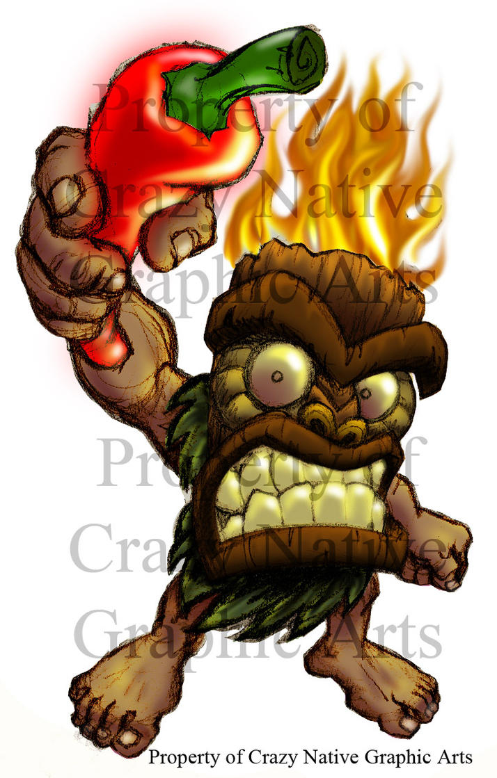 Ghost Pepper Tiki by Captain-D