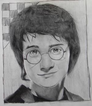 Harry Potter Pencil Portrait