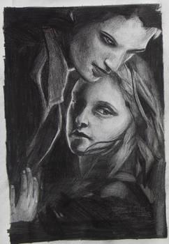 Twilight Pencil Portrait
