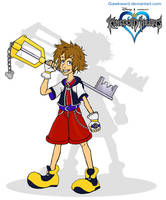 .:Sora Disney Style:. by KnoxOneBack
