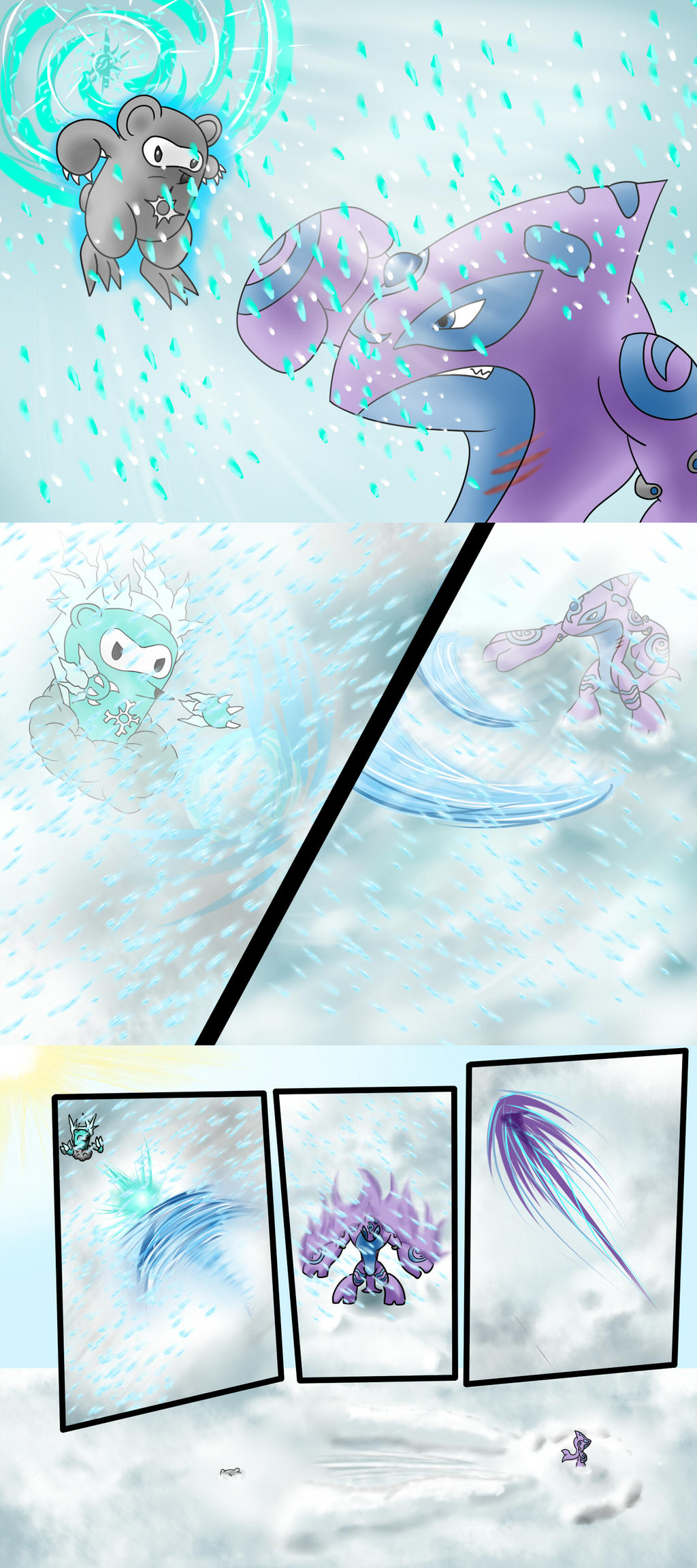 Mugourth Battle 2 by ArkaDark