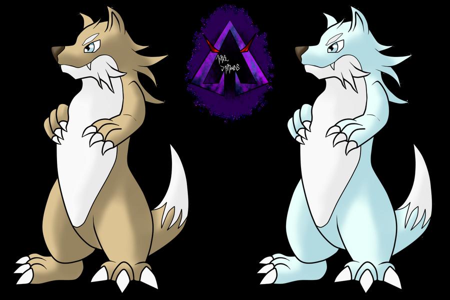 Nijitaki Fakemon! 99 Mustel by ArkaDark