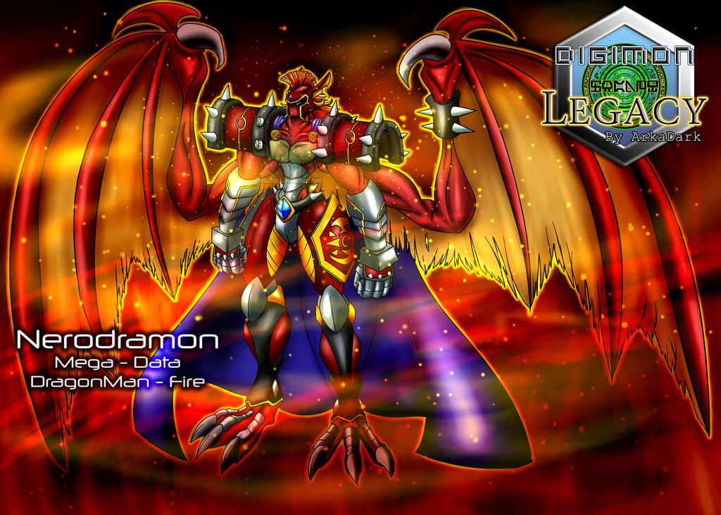 Digimon Legacy - Nerodramon (UPDATE) by ArkaDark