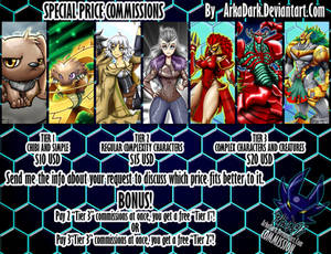 Special Commissions Ends October 18th