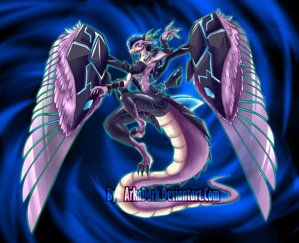Xaou91 [C] YuGiOh! Cyverse Monster by ArkaDark on DeviantArt