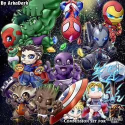 [C] Avenger Babies! by ArkaDark