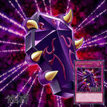Commission -  YGO Card - Vampire Coffin by ArkaDark