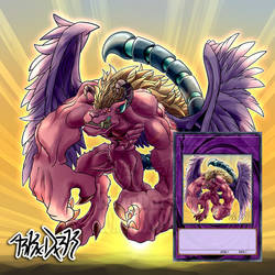 [C] Yugioh! Custom Monster - Manticore Behemot