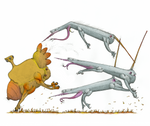 Day Among The Blistergrass - Alien Hunt