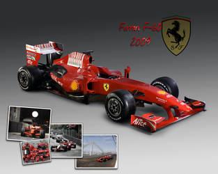 Ferrari F60 2009 by onensane