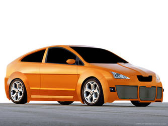 Ford Focus 2008 WIP by onensane