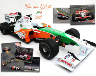 Force India VJM-02 wallpaper by onensane