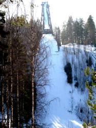 Ski jump by onensane