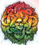 Lion Of Zion mandala